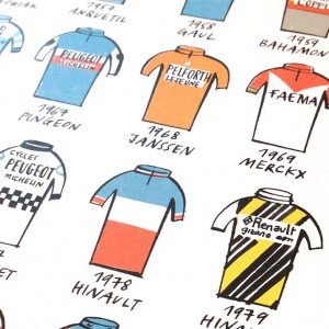 Tour de France 104 Litho Print by Beach o matic