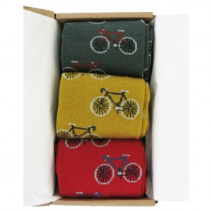 Men's Bicycles in a Box Socks Gift Box 3