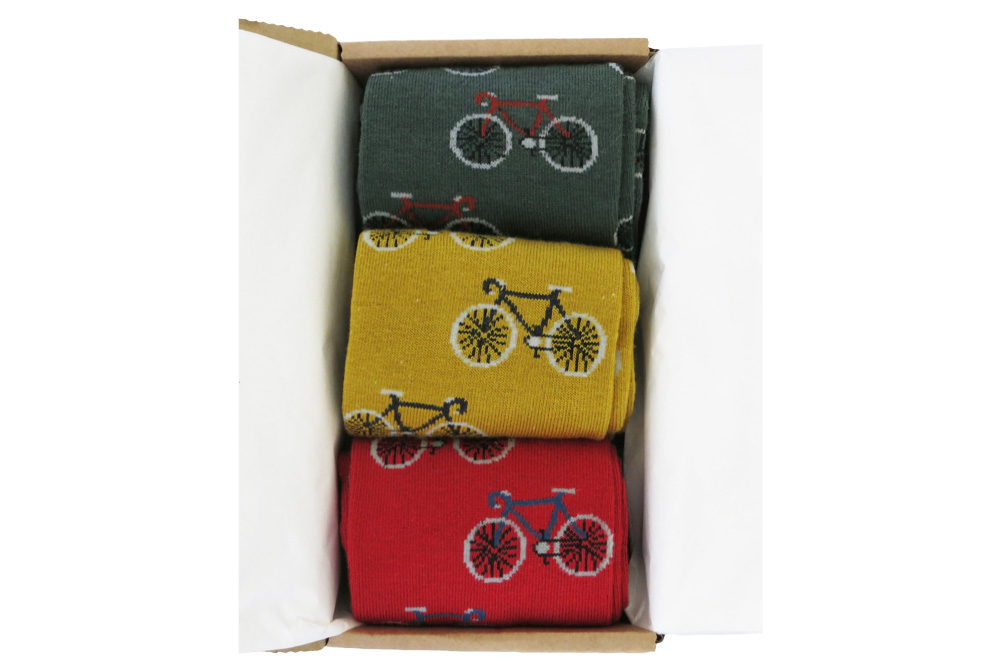 Men's Bicycles in a Box Socks Gift Box 3