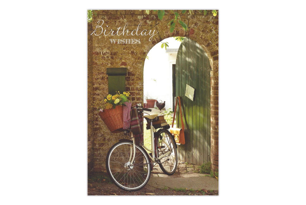 Cambridge Bicycle Birthday Card