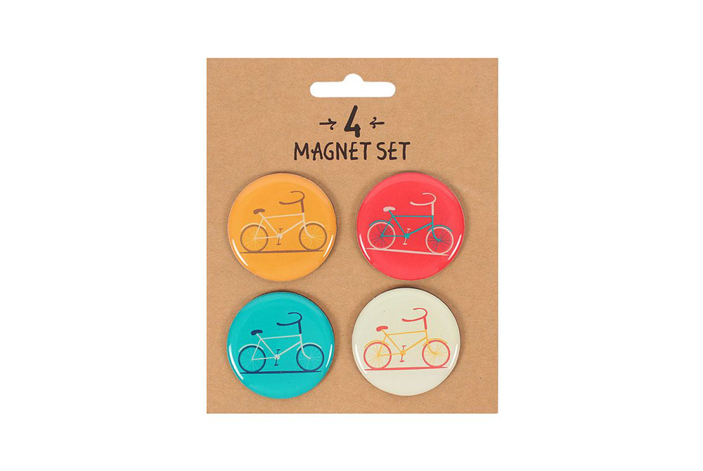 Bicycle Fridge Magnets x 4