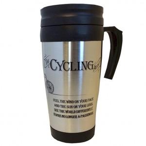 The Cycling Addict Travel Mug