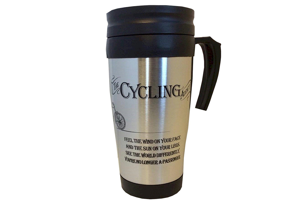 The Cycling Addict Travel Mug