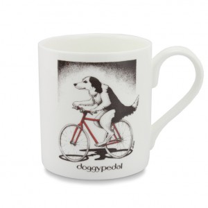 Doggy Pedal Bicycle Mug