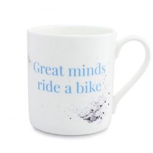 Great Minds Ride a Bike Bicycle Mug