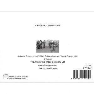 Vintage Tour de France Greeting Card