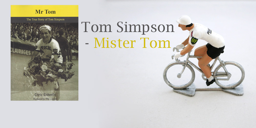 Tom Simpson - Book and Model