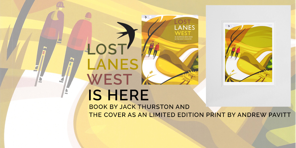 It's here - Lost Lanes West - Book and Print