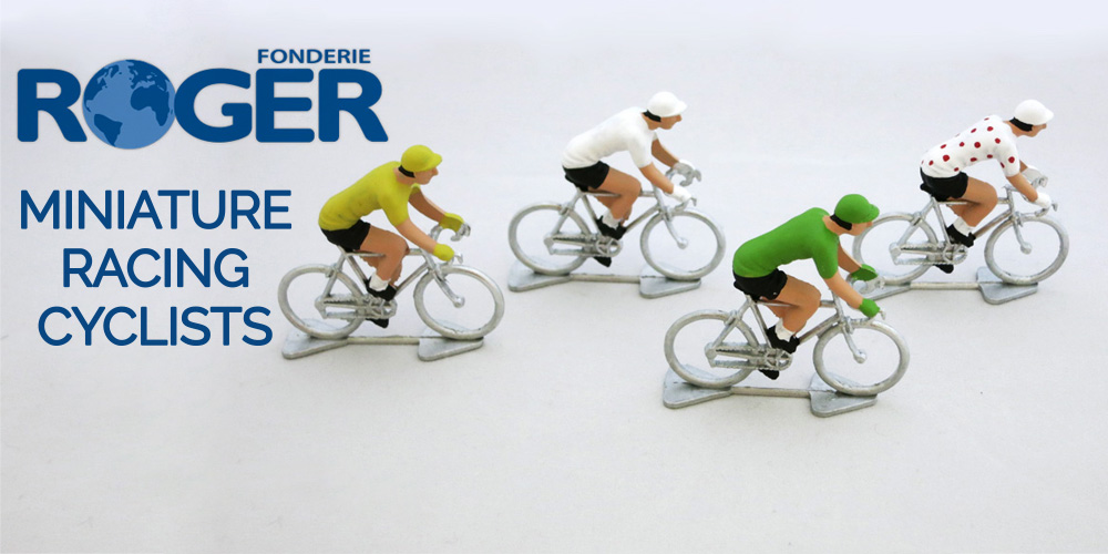 Fonderie Roger Miniature Racing Cyclists
