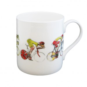 Men's Racing Cyclist Mug - Simon Spilsbury for CycleMiles