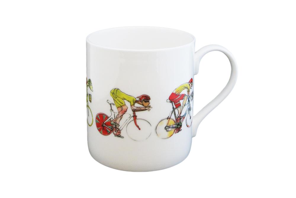 Men's Racing Cyclist Mug – Simon Spilsbury for CycleMiles