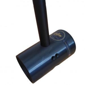 d.o.m. B66 Bike Polo Mallet – Matt Black