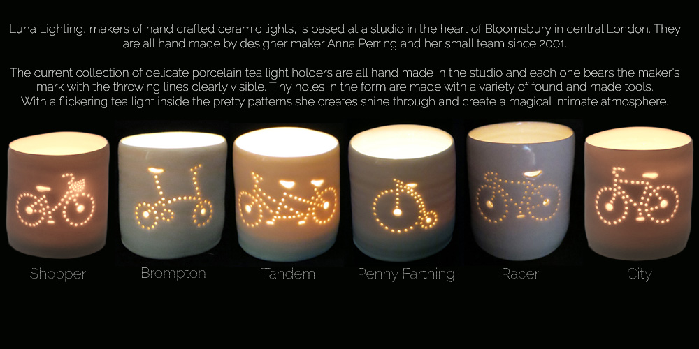 Handmade Luna Tealights