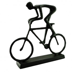 City Cyclist Bicycle Sculpture