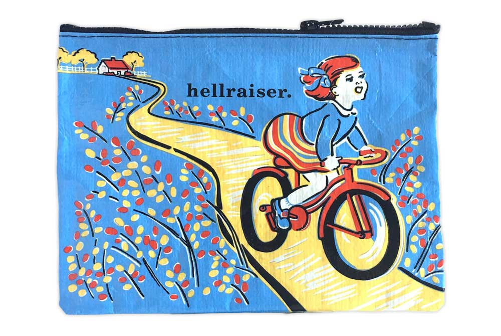 Blue Q Hellraiser Bicycle Zipper Bag