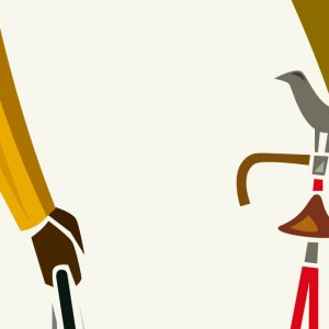 The Fixer Cycling Print by Andrew Pavitt – Colour