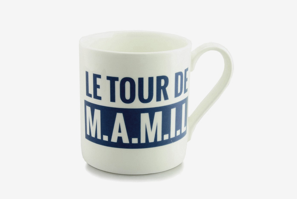 Le Tour de M.A.M.I.L. Bicycle Mug