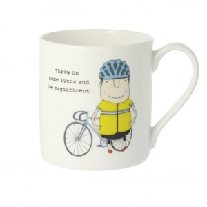 Throw on Some Lycra Bicycle Mug