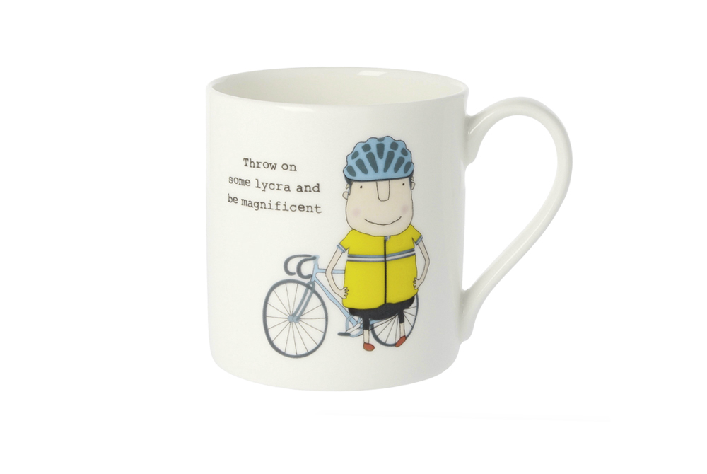 Throw on Some Lycra and be Magnificent Bicycle Mug