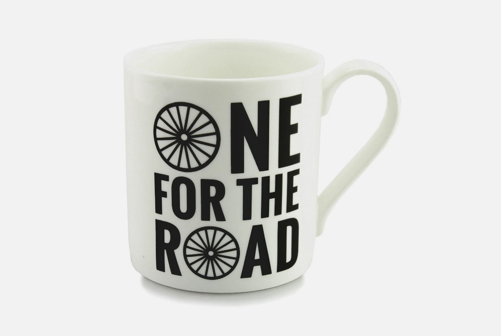One for the Road Bicycle Mug