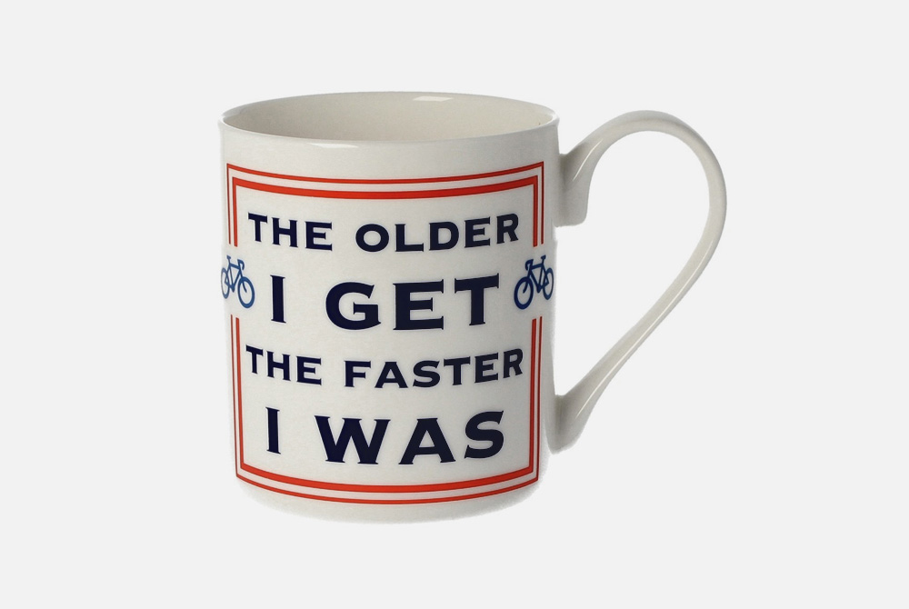 Faster I Was Bicycle Mug