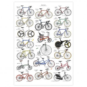 Bicycles Print by David Sparshott