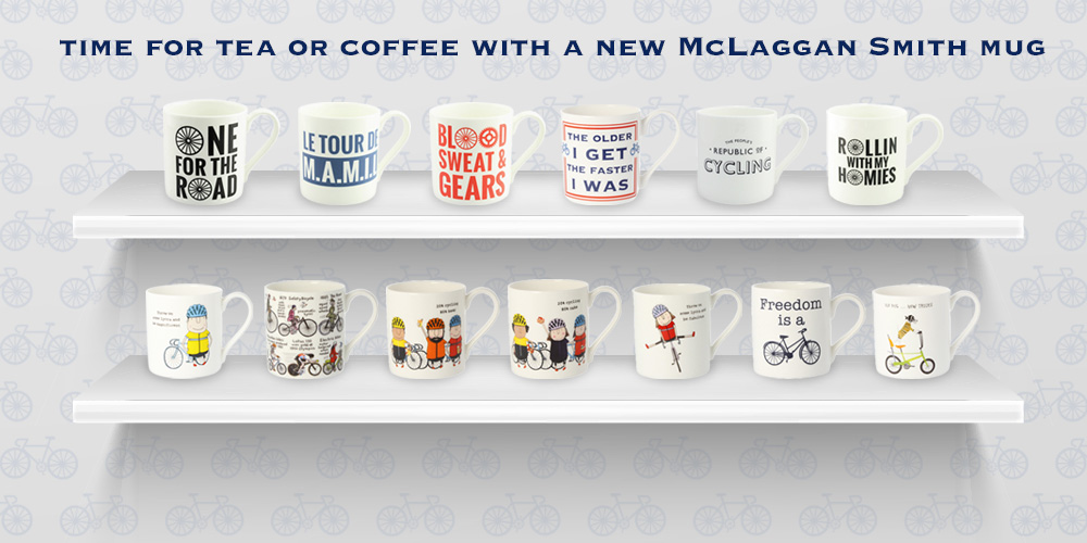 New - McLaggan Smith Mugs