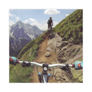Mountain Bike Birthday Card