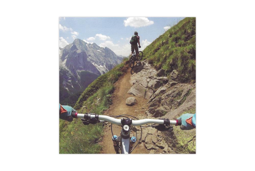 Mountain Bike Birthday Card
