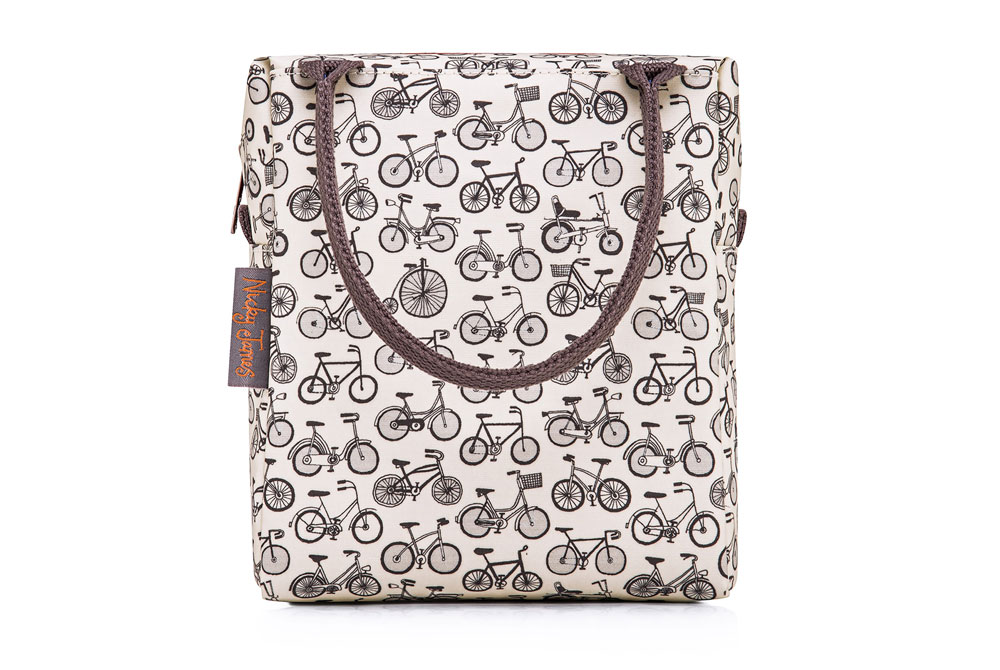 Nicky James Bicycle Lunch Bag