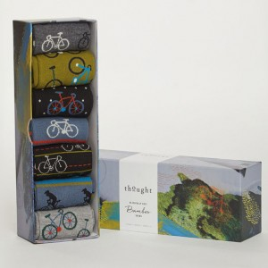 Men's Bamboo Bicycle Socks Box - 7 pairs