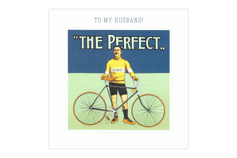 My Perfect Husband Bicycle Greeting Card
