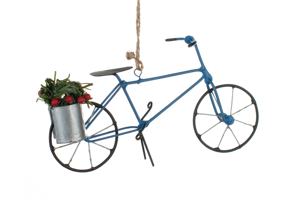 Bicycle Christmas Decoration – Holly Bicycle