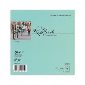 Bianchi Racing Bicycle Greeting Card