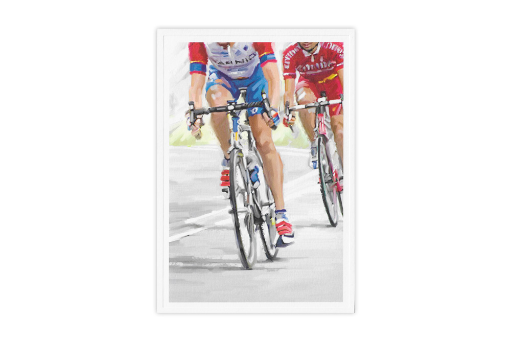 Cycle Racing Birthday Card