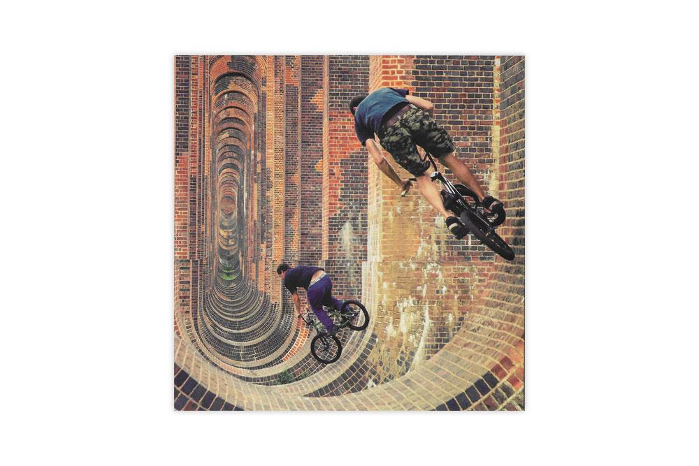 BMX Bicycle Birthday Card