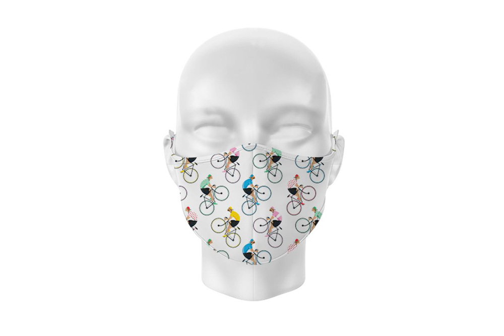 Cycle Works Racing Cyclist Face Mask