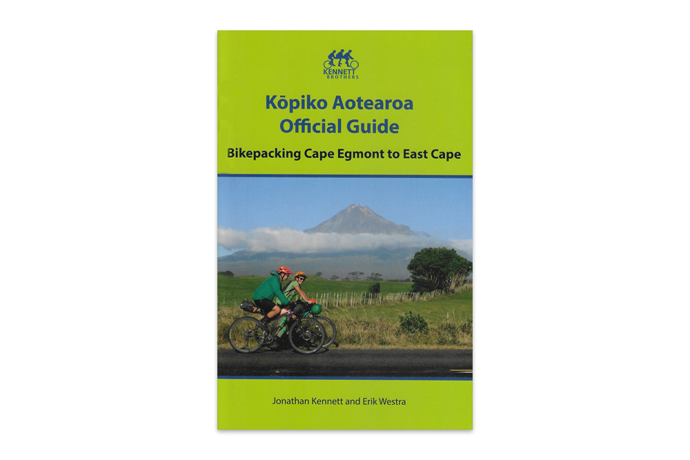 Kopiko Aotearoa Official Guide – Bikepacking Cape Egmont to East Cape – The Kennett Brothers