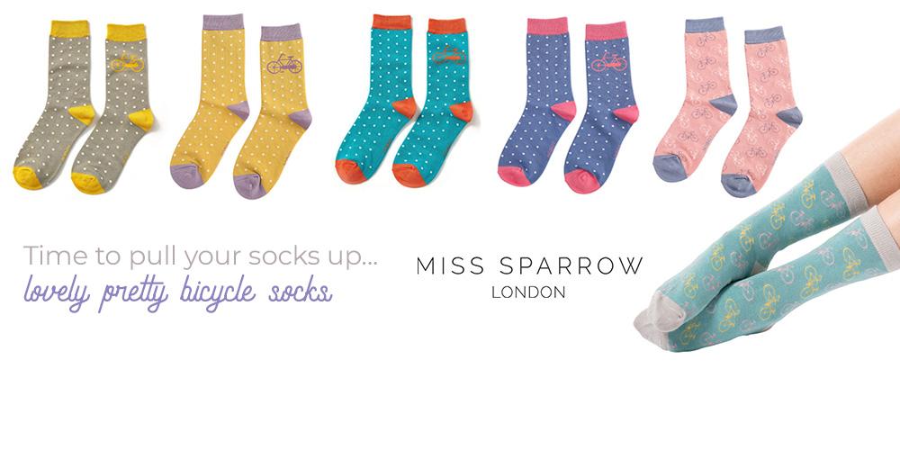 Miss Sparrow Women's Bamboo Socks