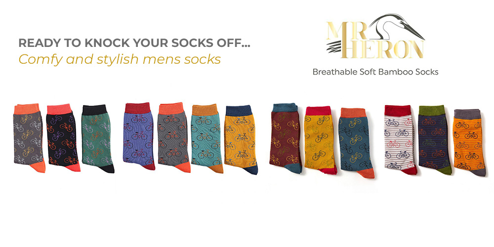 Mr Heron Men's Bamboo Socks