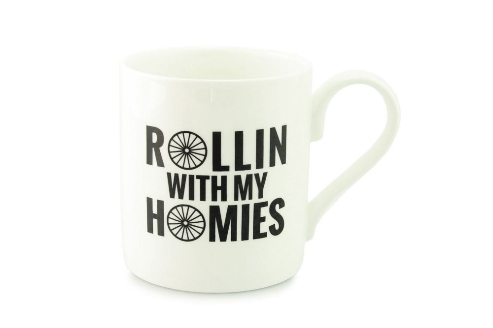 Rollin with my Homies Bicycle Mug