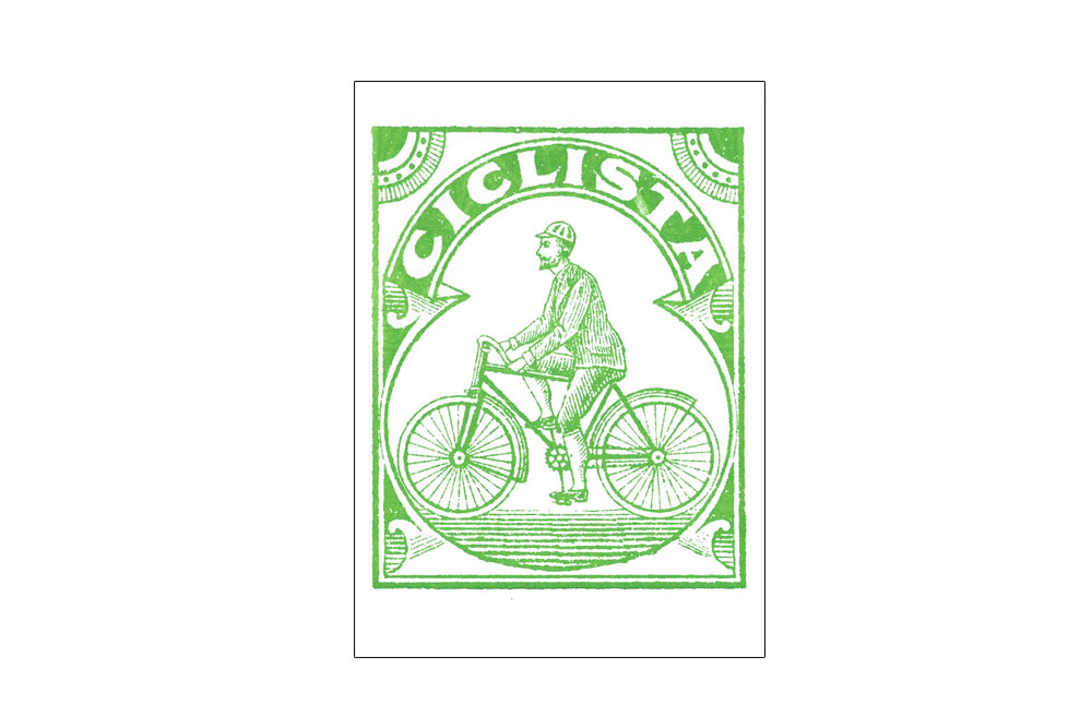 Ciclista Bicycle Note Card
