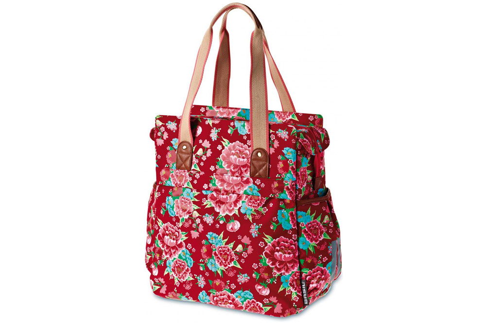 Basil Bloom Shopper Bicycle Pannier Bag