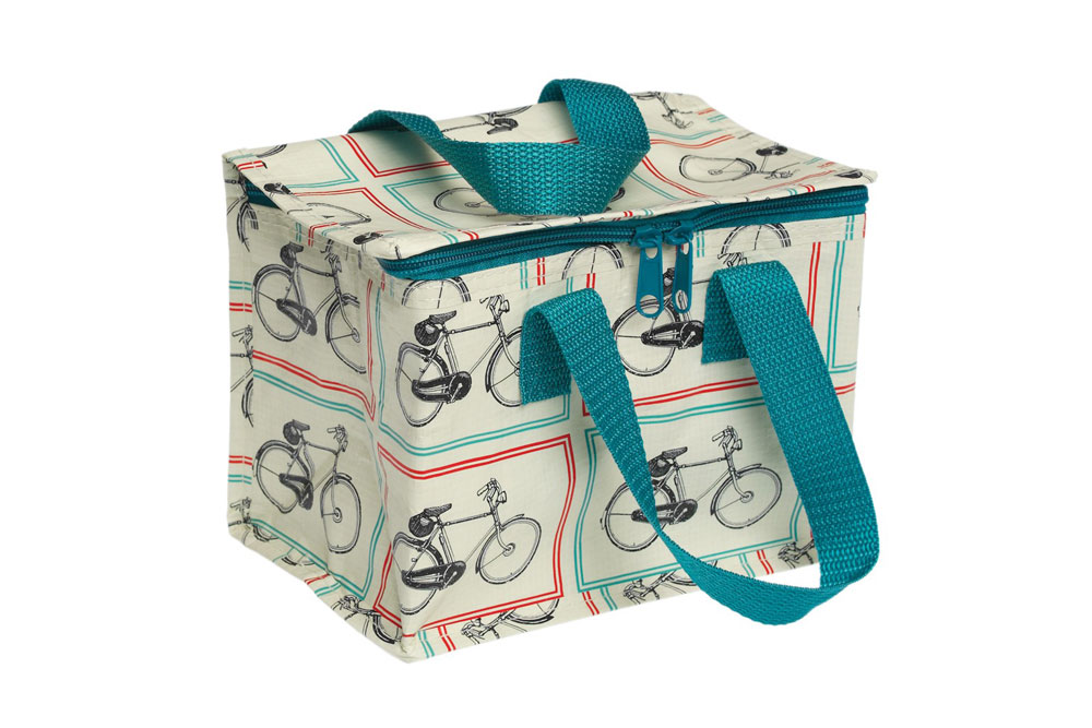 Bicycle Foil Lined Lunch Bag