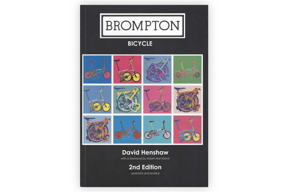 Brompton Bicycle by David Henshaw