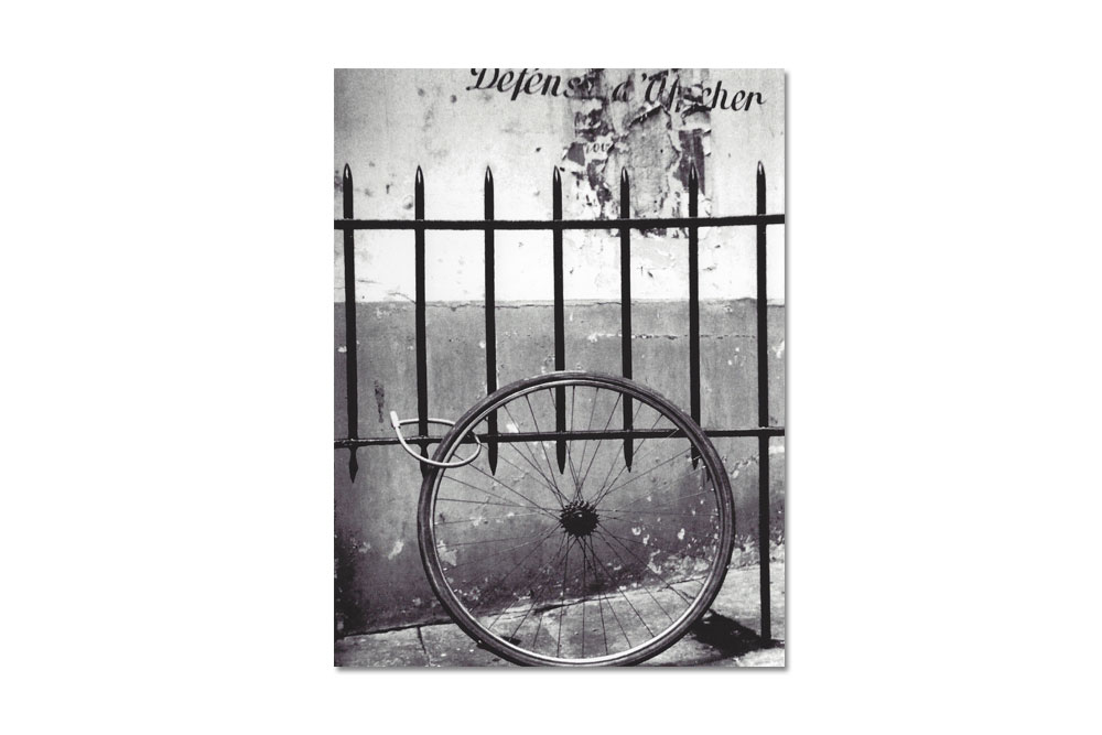 Stolen Bicycle Greeting Card