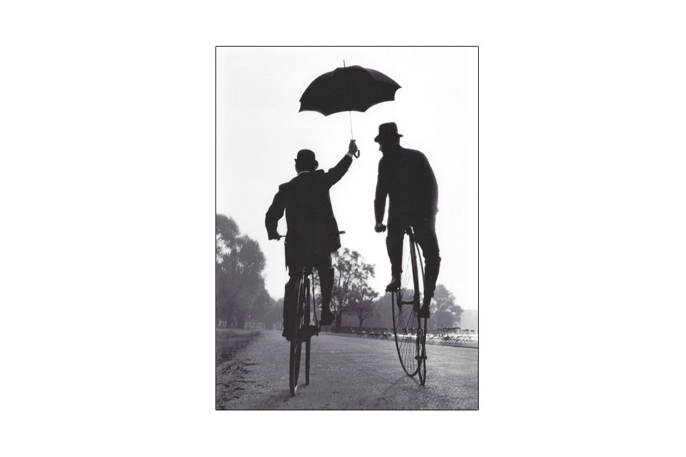 Penny Farthing Bicycle Greeting Card
