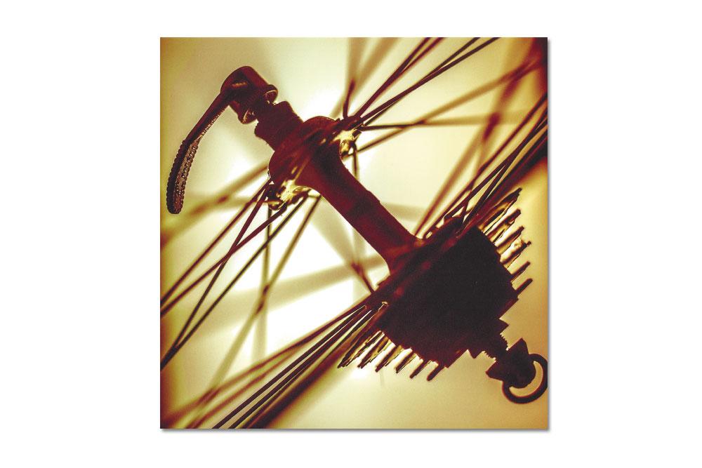 Vintage Wheel Bicycle Greeting Card