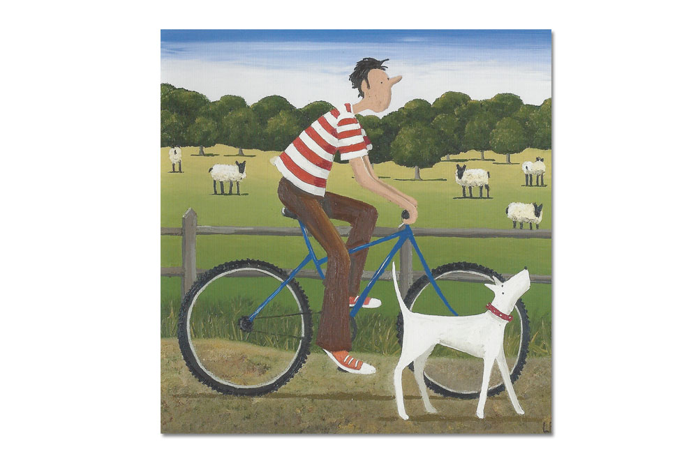 Out for a Ride Bicycle Greeting Card