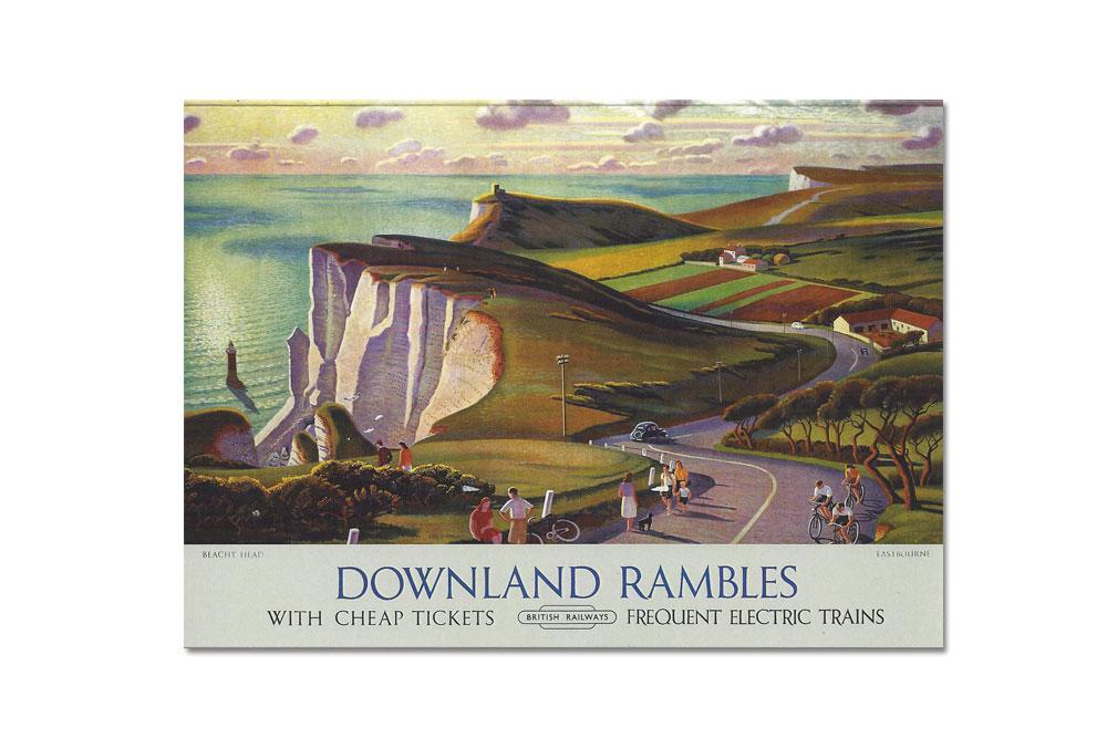 Downland Rambles Bicycle Greeting Card